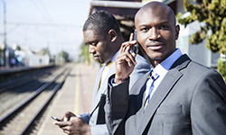 African businessmen