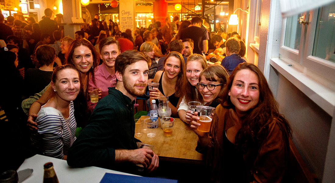 Studenterhuset invites students across the University to join associations and parties